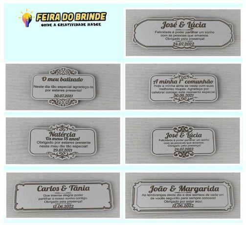 Iman's em vários modelos para lembranças, convites ou decoração