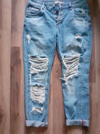 Spodnie damskie z dziurami Msara M