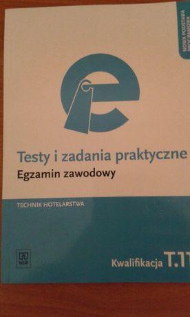 Egzamin zawodowy T 11. Testy i zadania praktyczne hotelarz.
