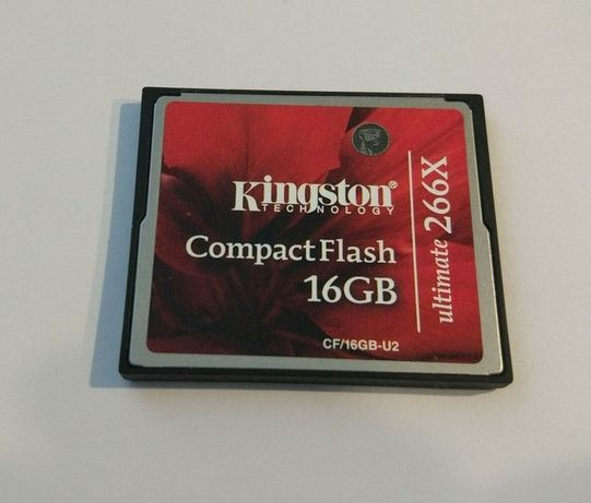 Compact Flash karta pamięci Kingston Ultimate 266x 16GB