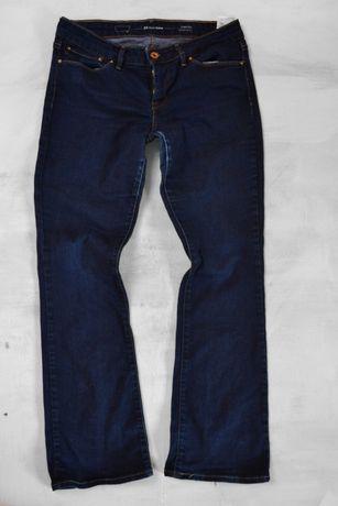 jeansy granatowe spodnie jeansowe levis W29 L30 S