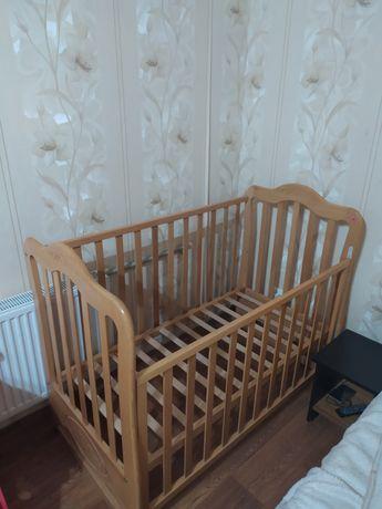 Детская кроватка+матрас италийский