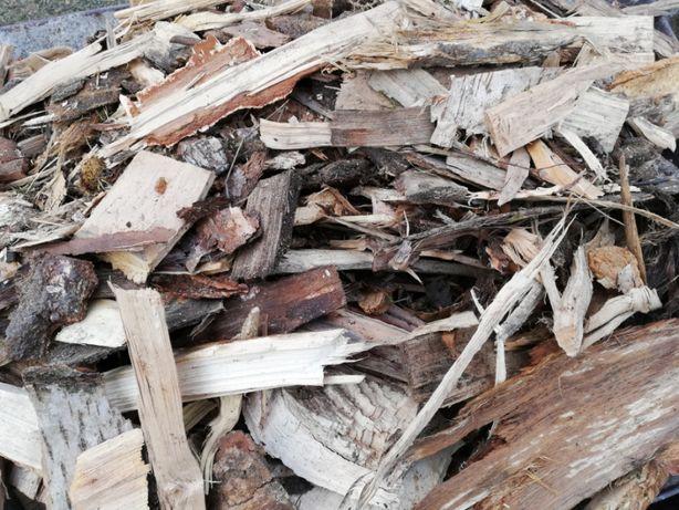 Drewno kominkowe i opałowe wióry poprodukcyjne