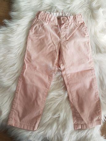 Spodnie H&M 92 róż