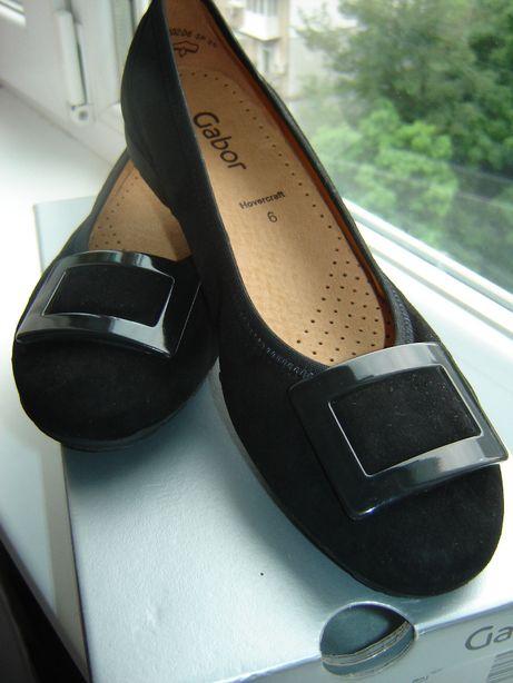 туфли женские замшевые GABOR