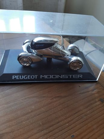 Miniatura carrinho prototipo Peugeot moonster