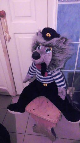Серый Волк (морячок),Большая мягкая игрушка