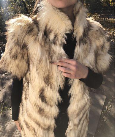 Шуба из степного волка