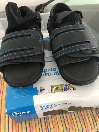 Sapatos pós cirurgicos