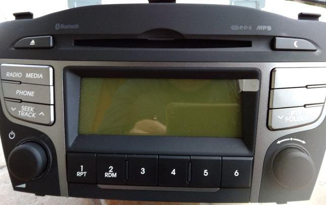 Nowe oryginalne radio samochodowe do Hyundai ix35 CD/MP3/Bluetooth