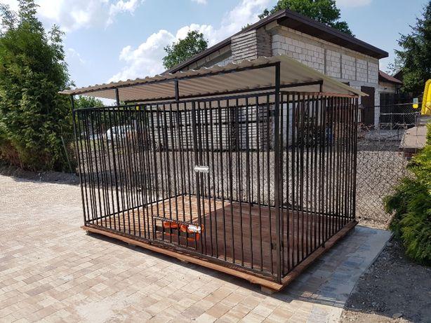 Kojec Klatka Zagroda Buda dla psa 2mx2m Montaż Solidny