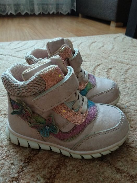 Демисезонные ботинки 25 р Житомир - изображение 1