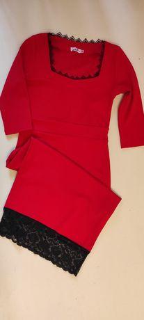 Продам нарядное красное платье