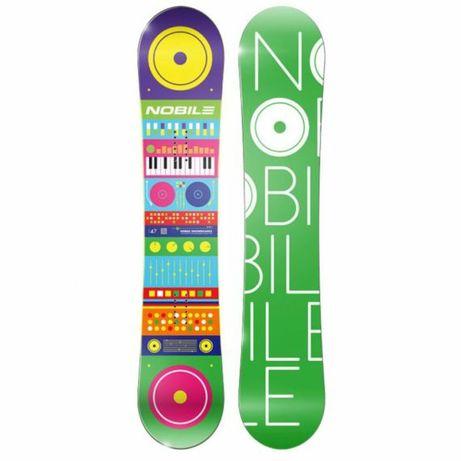 Deska snowboardowa NOBILE HEAVENLY151 i 155 cm NOWA