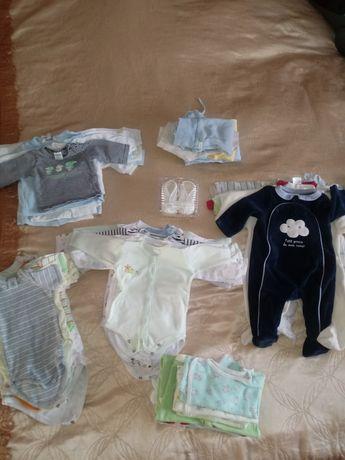 Mega paka,ubranka,wyprawka dla dziecka 56-62