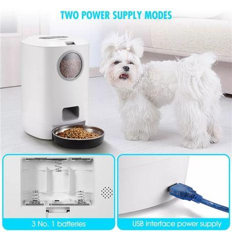 Автоматическая умная кормушка автокормушка собак кошек животных 4.5 л