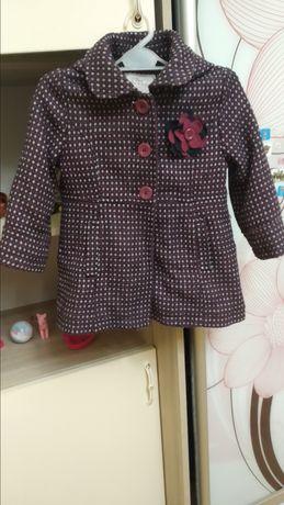 Дитяче пальто для дівчинки 104см