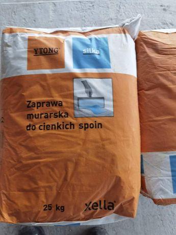 Zaprawa murarska do cienkich spoin worek 25kg xella ytong silka