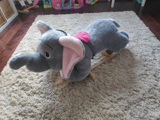 Słoń na biegunach bujaczek