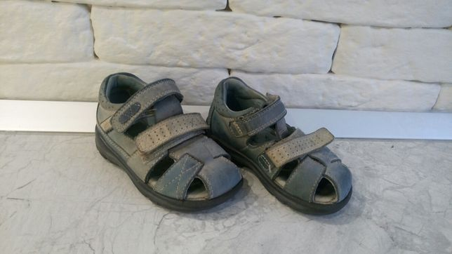 Боссоножки на мальчика, сандалии фирмы Ecco 13 см