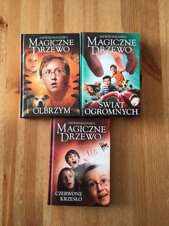 """,,Magiczne drzewo"""" Andrzej Maleszka"""