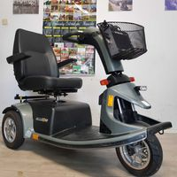 skuter inwalidzki elektryczny wózek LUNA VICTORY MOCNY wysokie koła