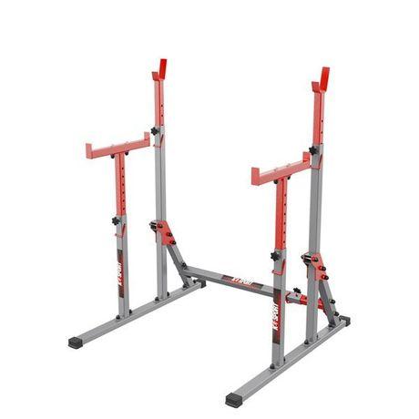 Stojaki treningowe pod sztangę ławkę do ćwiczeń z asekuracją