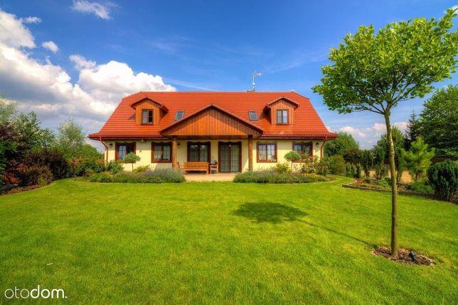 Lipków, dom jednorodzinny z ogrodem
