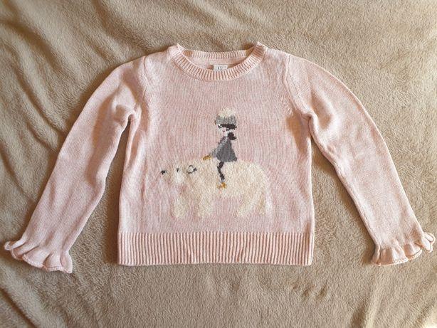 Śliczny sweterek GAP dla dziewczynki -4 lata
