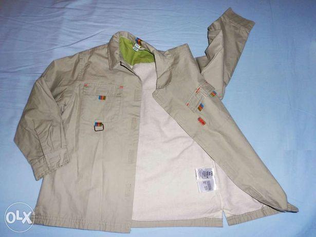 Camisa/jaqueta da PRENATAL muito gira, 4/5A. OFERTA de portes