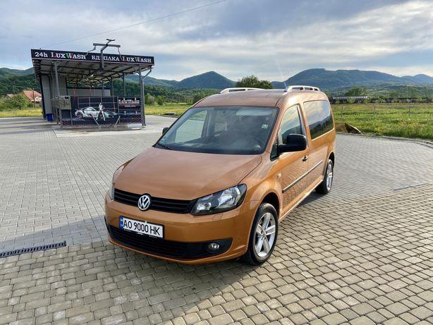 Volkswagen Caddy Maxi EcoFeul 1,6 75 kwt оригінальний пасажир