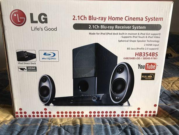 Kino domowe LG 2.1Ch Blu-ray Home Cinema System