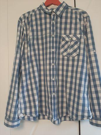 Koszula męska w kratę XL