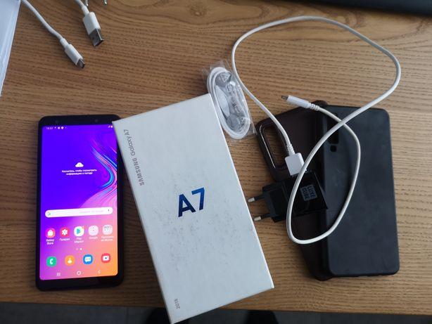 Продам Samsung Galaxy A7 2018 б.у.