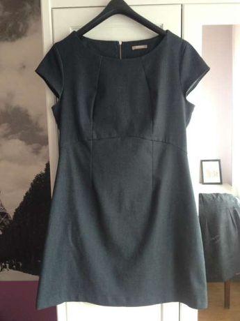Jeansowa sukienka stan idealny XL