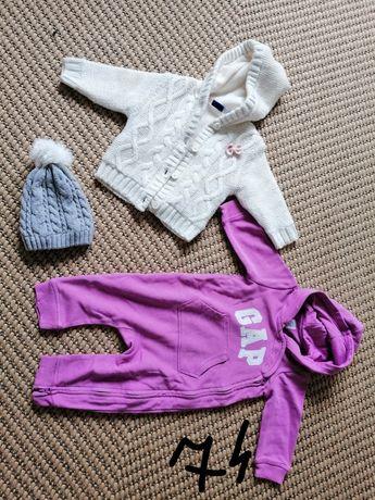 Ubranka dla dziewczynki 74-86
