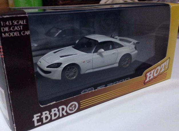 Miniatura Honda S2000 Mugen 1/43 Ebbro Ed. Limitada