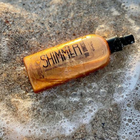 Кокосова олійка для засмаги з шиммером