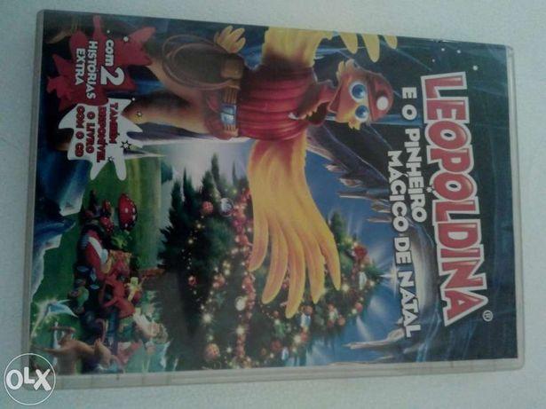 """Dvd """"leopoldina"""" e o pinheiro mágico"""