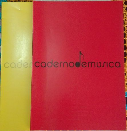 Caderno de música 20 folhas