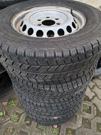 """Felgi stalowe 16"""" 6x130 Mercedes Sprinter VW Crafter z oponami"""