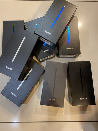 Samsung Galaxy Note 10+ 256GB Aura Glow, Black i White Gliwice Zabrze