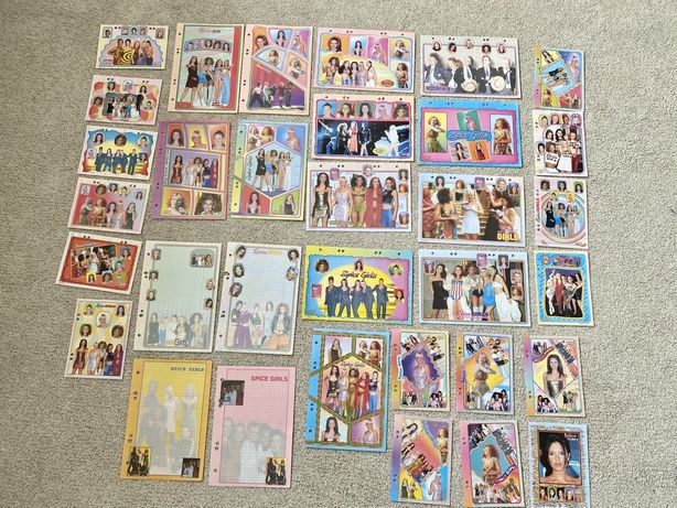 Karteczki segregator lata 90