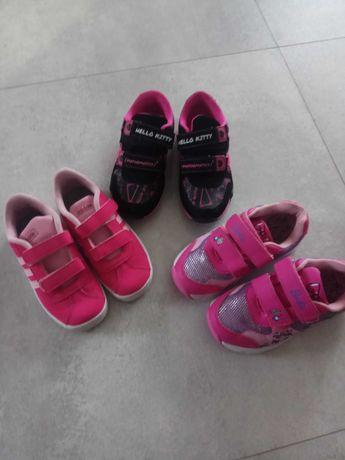 Buty sportowe dziewczęce rozm. 28