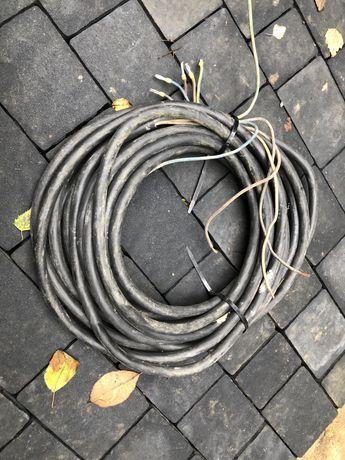 Kabel, przewód, przedłużacz 5x6mm2 miedziany