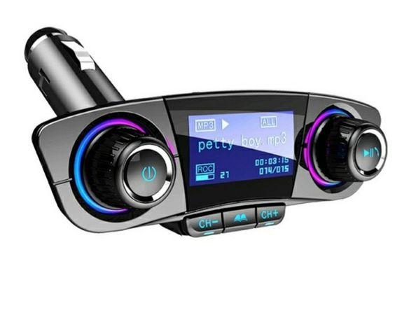 Transmissor M3 Bluetooth FM / MP3 com Ecrã para Carro