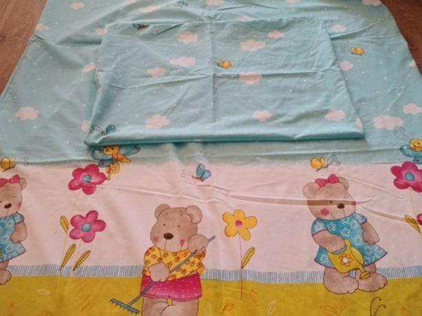 Pościel 120x60 plus ręcznik