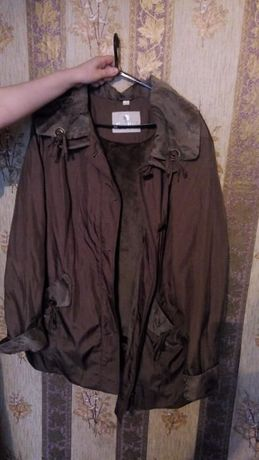 Демисезонная легкая куртка Большой размер
