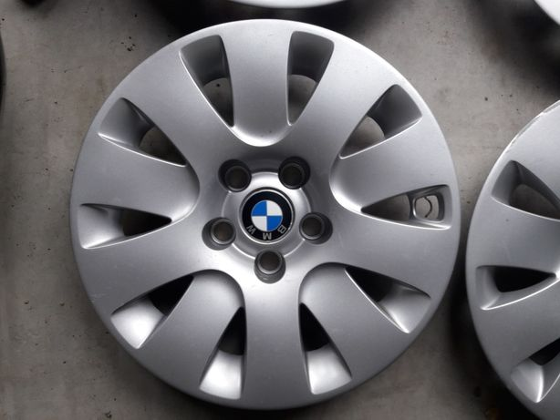 Felgi stalowe BMW 5 '16' 5x120 IS20 oryginalne kapsle.