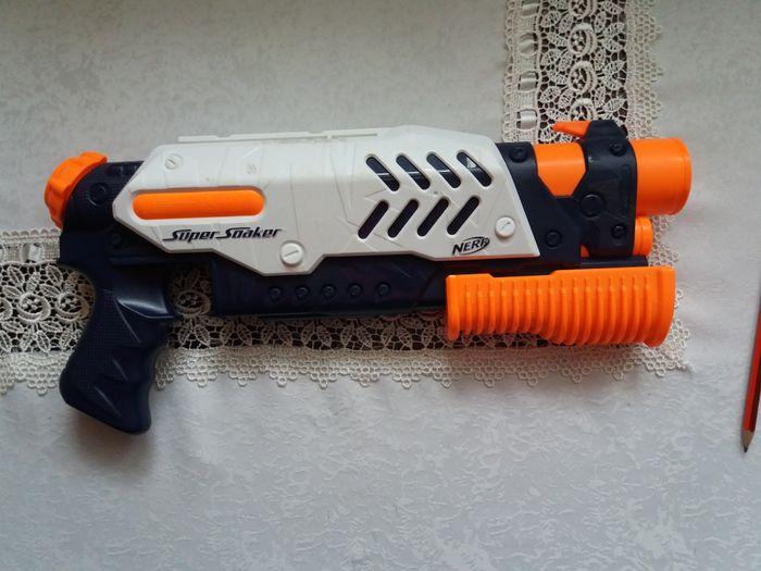 Nerf Super Soaker. Pistolet na wodę. Łódź - image 1